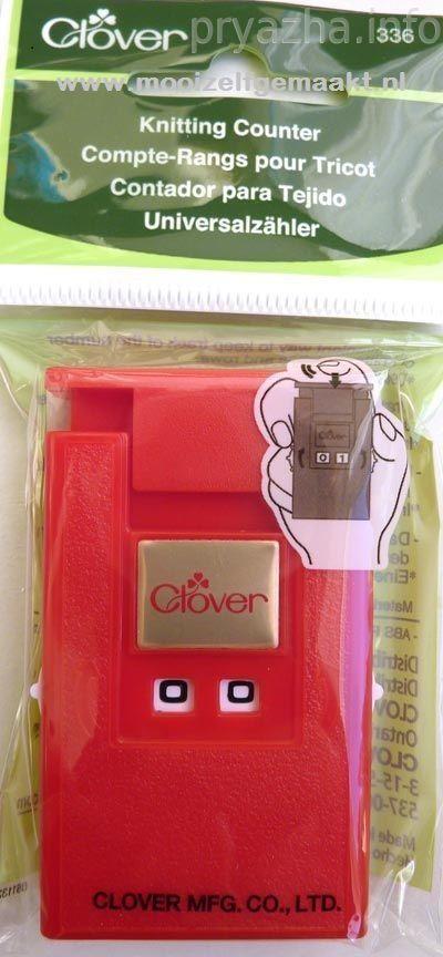 toerenteller Clover rood