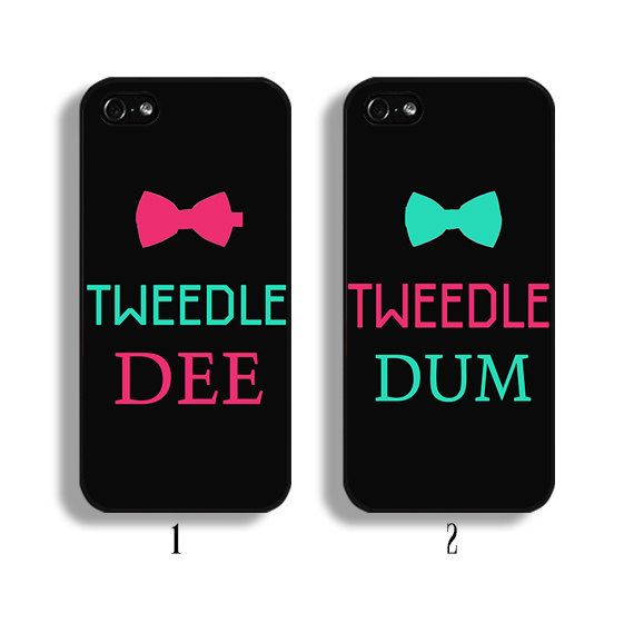 Tweedle Dee Tweedle Dum case Couple phone case for by caseme555