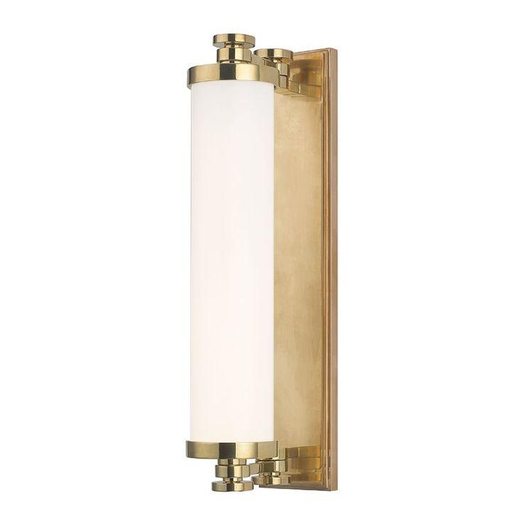 Pic On Hudson Valley Sheridan Light LED Bathroom Light