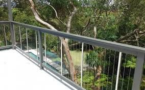 Image result for vertical wire balustrade