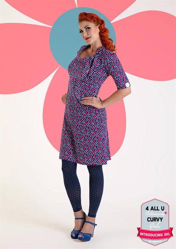 Pinkprikket Margot kjole STICKY NICKY no 717 MWMwear