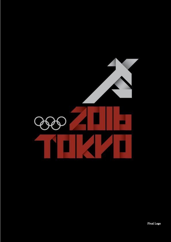 (a fictional) tokyo olympic games 2016 by Andreas Leonidou, via Behance