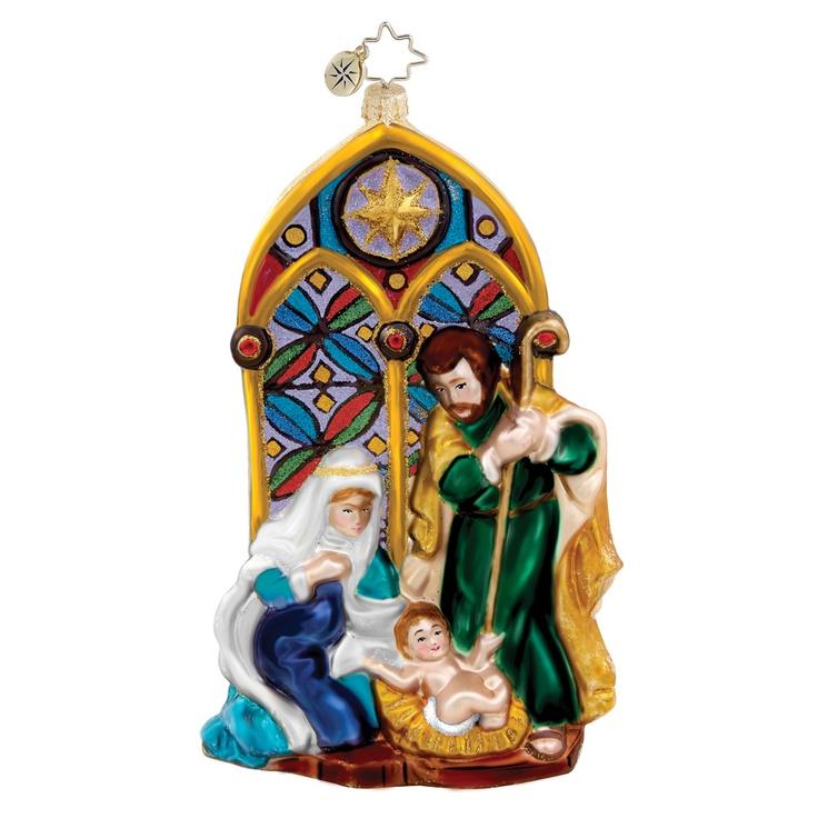 Christopher Radko Religious Christmas Ornament Holy: Image Detail For -Christopher Radko Ornaments > Holy