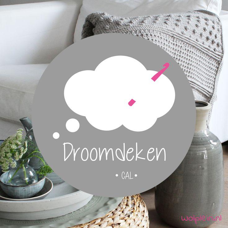Doe jij mee met de Droomdeken CAL? Deze Crochet Along is hip, trendy én geschikt…