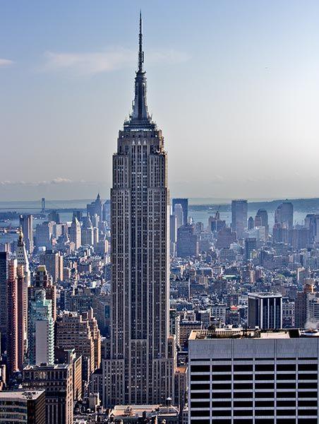 el empire state fue durante aos el edificio ms alto de nueva york y el mundo