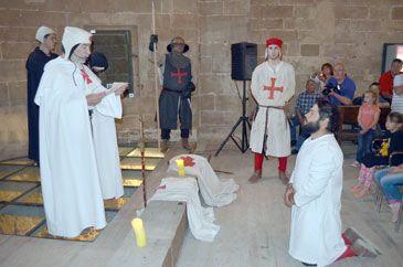 Monzón recreará la llegada de Jaime I hace 800 años al castillo templario