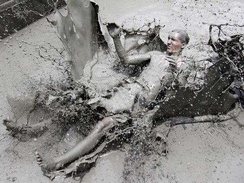Annual Boryeong Mud Festival In Seoul