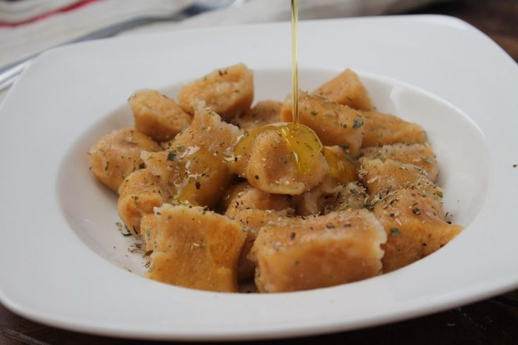 butternut squash and sweet potato gluten free gnocchi