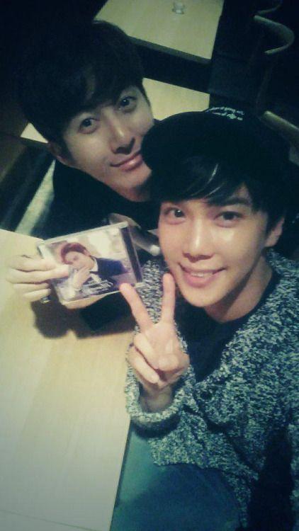 Kim Hyung Jun and Park Jung Min