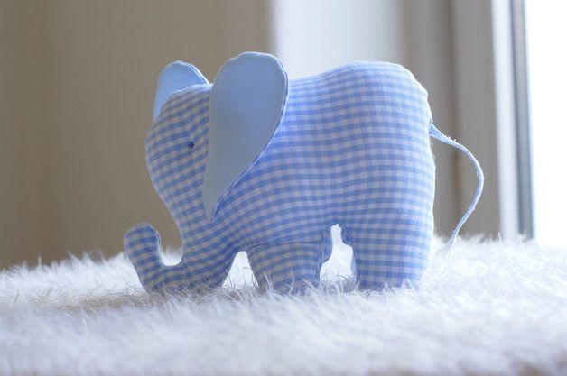DIY Elefant aus Stoff für Babys