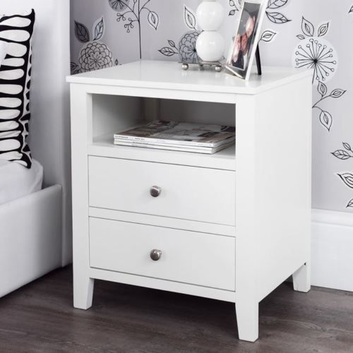 Brooklyn-white-bedside-table-Solid-FULLY-ASSEMBLED-bedside-cabinet-metal-runners