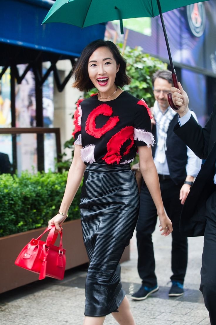 See all the street style looks from Couture Paris Fashion Week on Vogue.co.uk