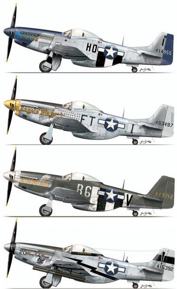P-51D Mustang                                                                                                                                                     Más