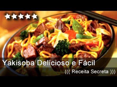 Como Fazer Yakisoba delícioso - Muito rápido e fácil! ( Receita Secreta de Yakisoba do China in Box) - YouTube