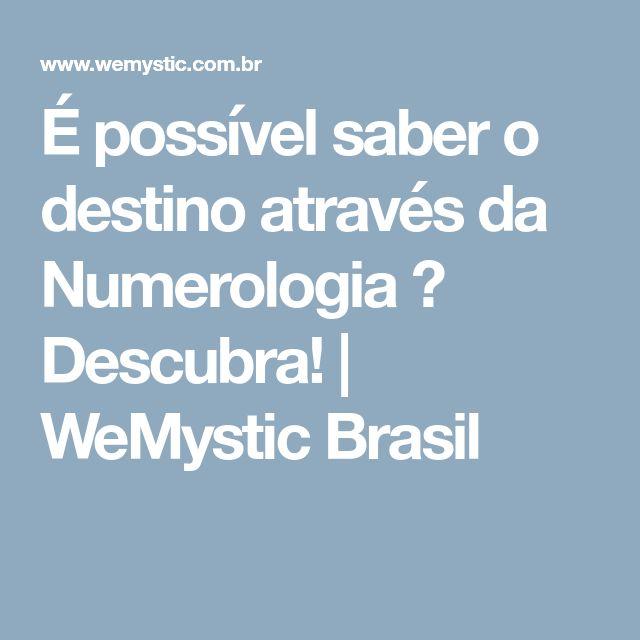 É possível saber o destino através da Numerologia ? Descubra! | WeMystic Brasil