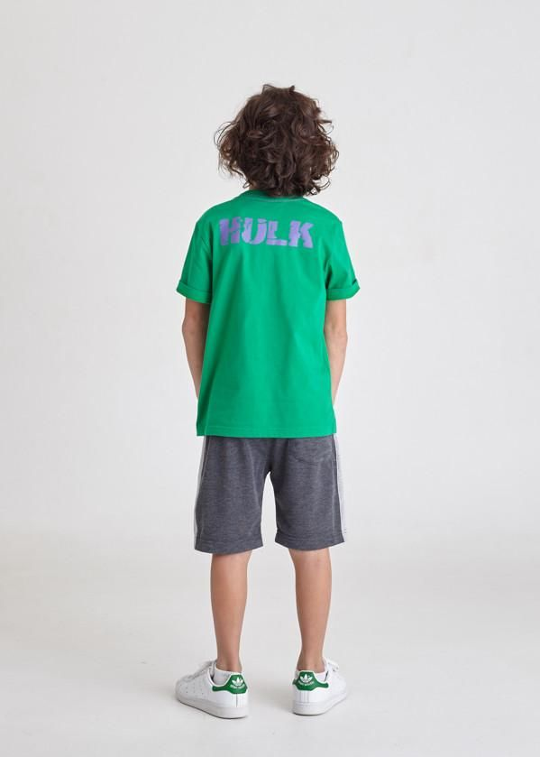 https://www.i-sabuy.com/ … กางเกงขาสั้นเด็ก Marvel Kid – Shorts The Hulk – Characters Studio