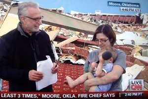 Tornado survivor to Wolf Blitzer: Sorry, I'm an atheist. I don't have to thank the Lord