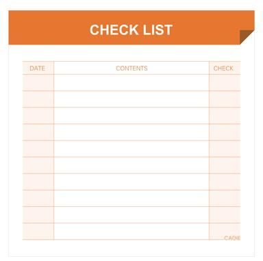 Cagie Mini Pocket Memo Pad Monthly/Weekly Plan/Check List/Daily Schedule Notepad Office Desk Memo List Pad Daily To Do List