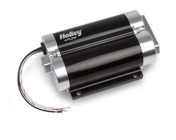 Holley Dominator 130 GPH Inline Billet Fuel Pump 12-1200-2 w/ Duel Inlet