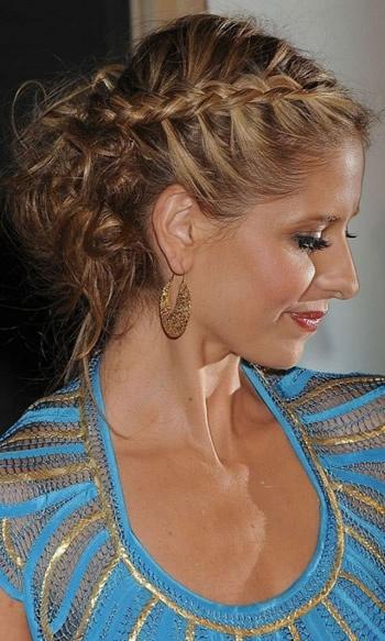 after beach hair (PLUS) Sarah Michelle Gellar. <3