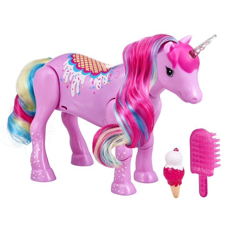 Feature Little live pets, Baby unicorn, Dinosaur stuffed