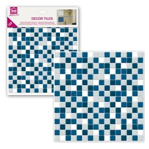 Sticky tile for renovating a bathroom Piastrella 3D Decorativa Mosaico Blue Marine | Wall Stickers Decorazioni Adesive