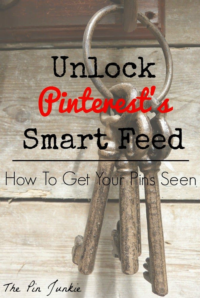 Pinterest Smart Feed: Get Your Pins Seen - this has some really good advice on optimizing your pins to get more visitors and more repins.