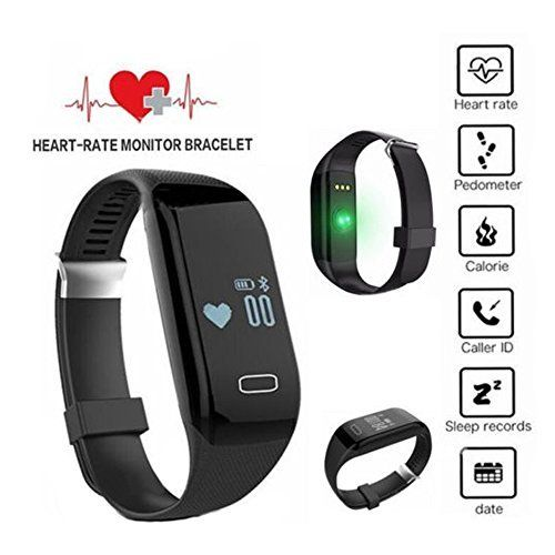 Kize2016 Fitness Watch Heart Rate Monitor Smart Pedometer Bracelet Waterproof. Watch band can be easily remove and replaced ,slim ,comfortable,if you need another kind of color band ,please contact us.We are committed to serving you. PPG, support heart rate test when havong rest or sleeping./But Heart rate function will use much power .So when you sleep at night , you'd turn off the heart rate function .You can test it ,when you rest. If turn off bluetooth and heart rate,standby 2-3…