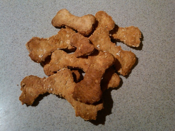 Woof Waggers Gourmet Dog Treats by elizabethrossi2 on Etsy, $6.25