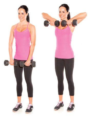 Rutina de 5 minutos para reafirmar busto caido. ~ Reto de 30 días Fitness