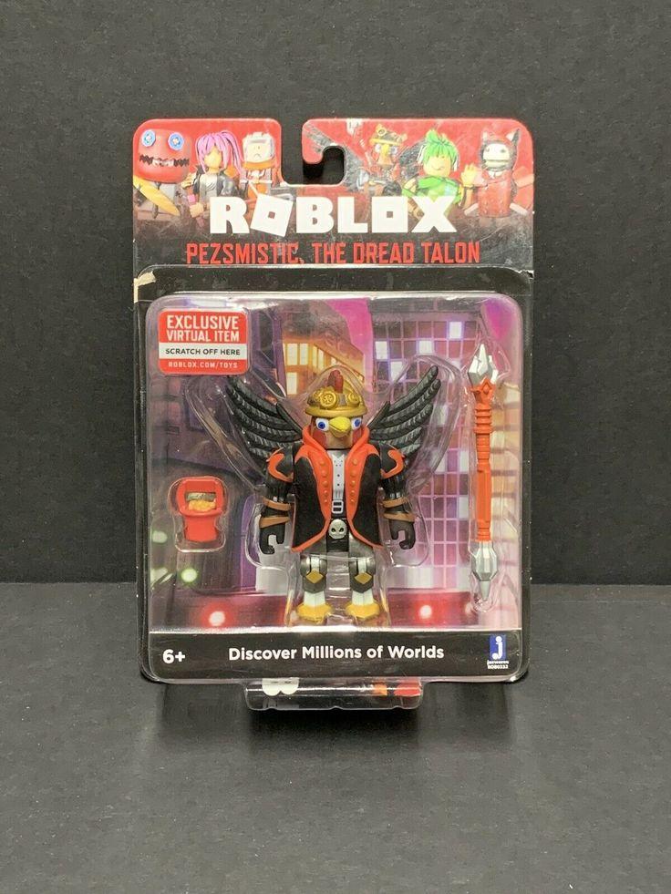 Roblox Pezsmistic The Dread Talon & Quest Minion Set in