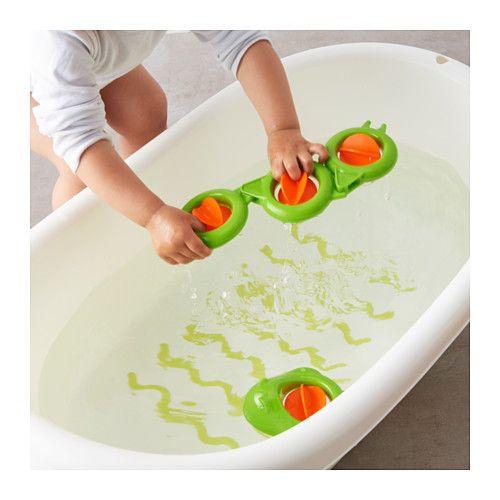 SMÅKRYP Bath toy, eel  - IKEA