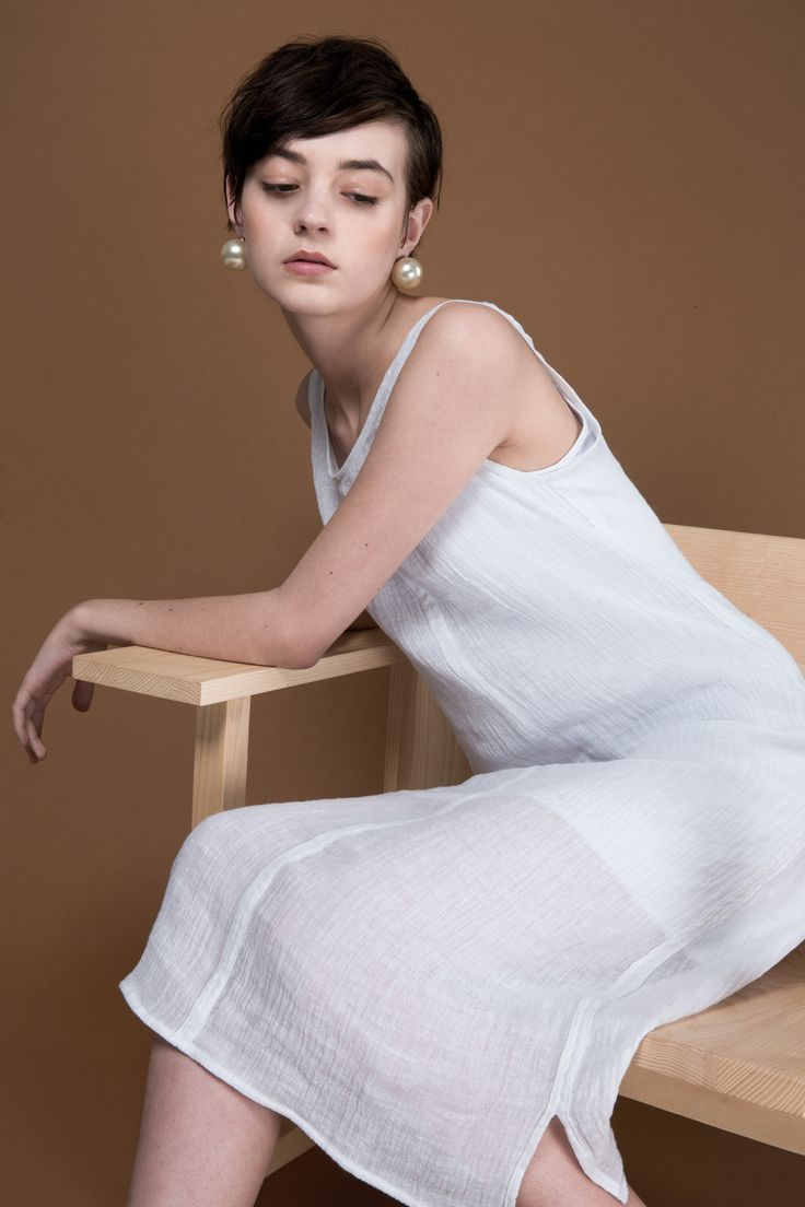 Nonim Dress by OVNA OVICH Made in New Zealand from consciously sourced materials