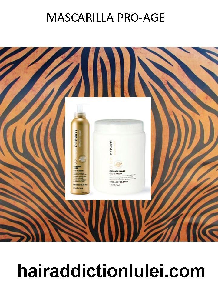Mascarilla Pro-Age con Aceite de Argán. http://hairaddictionluilei.com/store/LEI/es/lei/260-argan-mascarilla-pro-age-.html