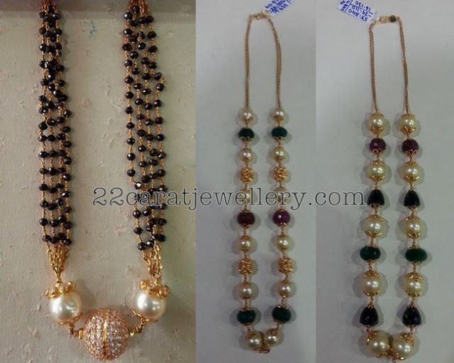 1000 Images About Black Beads Jewellery On Pinterest