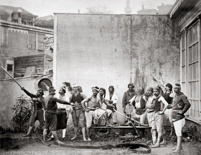 Gönüllü Türk Tulumbacılar (İtfaiyeciler), İstanbul, 1870