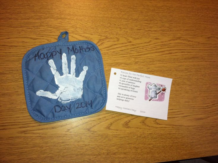 Mothers Day gift we did for our classroom Pot holder and ...
