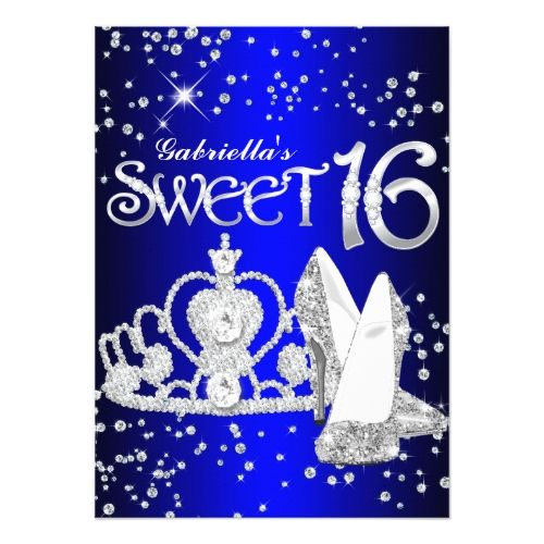 Blue Sweet Sixteen