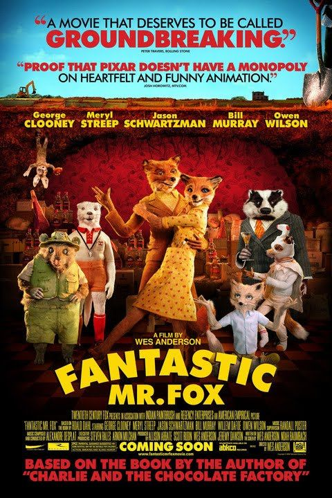 After 12 years of bucolic bliss, Mr. Fox (George Clooney) breaks a promise to his wife (Meryl Streep) and raids the farms of their human neighbors, Boggis, Bunce and Bean. Giving in to his animal instincts endangers not only his marriage but also the lives of his family and their animal friends. When the farmers force Mr. Fox and company deep underground, he has to resort to his natural craftiness to rise above the opposition.