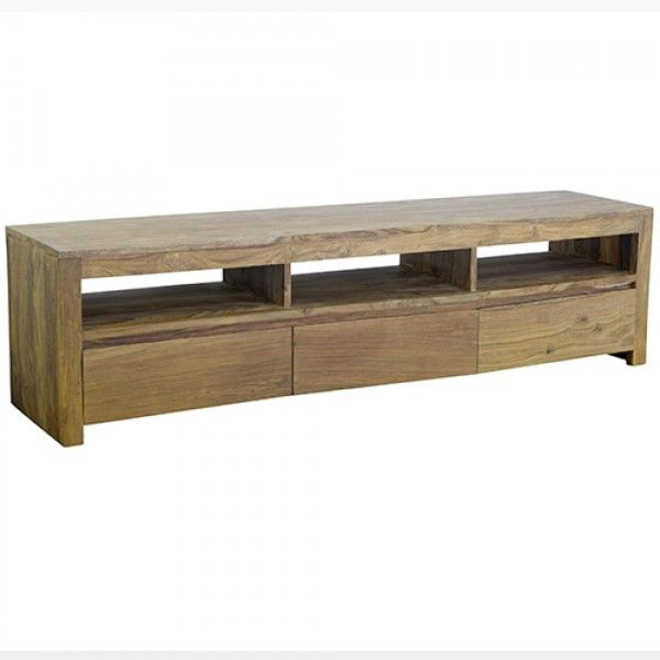 Timber Entertainment Unit in Rosewood | Loft Furniture