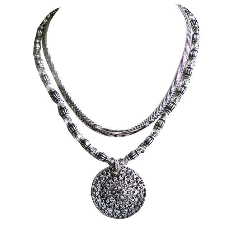 Konplott Rosone Halskette zweireihig!