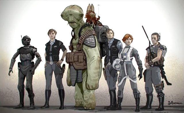 rogue one concept art star wars