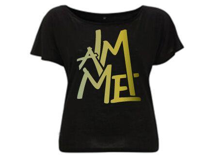 I am Me - Duurzaam Tencel T-shirt Zwart