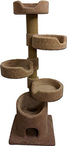 Royal Cat Boutique KB4 4 Story Kitty Condo