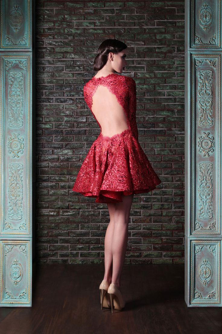 Lace Couture Dress
