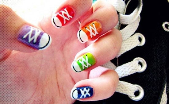 17 Colorful And Easy Nail Art Designs For Summers | StyleBees
