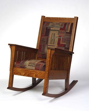 1200 Mission Rocker in Solid Wood | 33% Off Amish Furniture