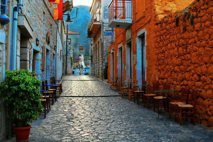 Areopoli, Mani, Greece