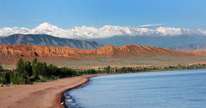 Issyk Kul Kyrgyzstan by Novoselov
