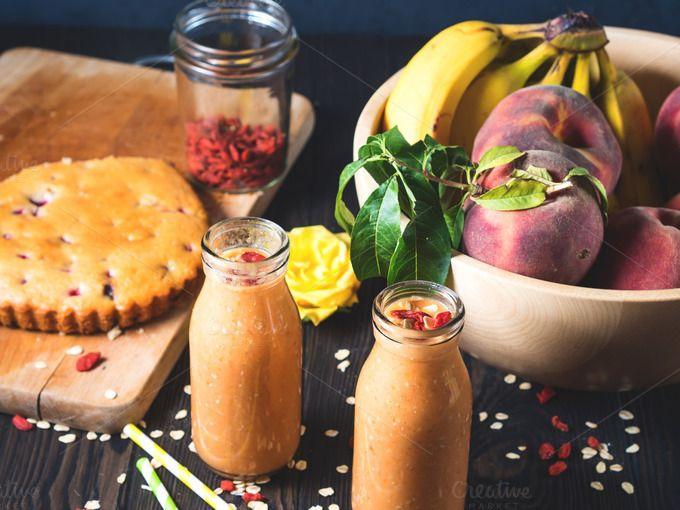 Vegan healthy breakfast by Life Morning Photography on @creativemarket